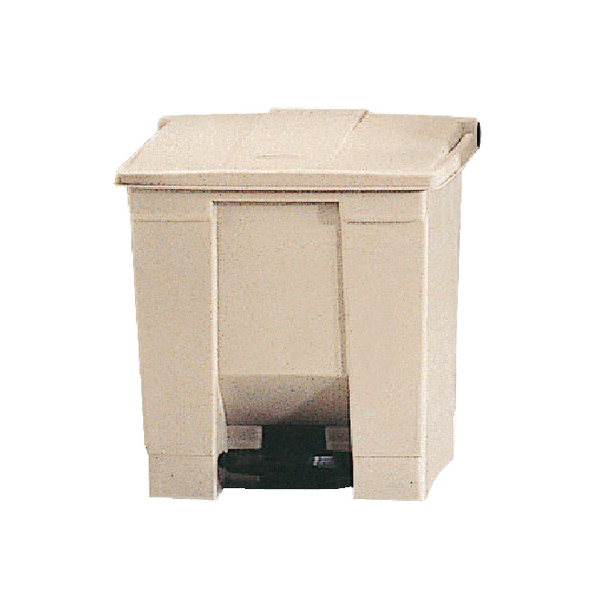 Step-On Pedal Waste Bin 68 Litre Beige 324294