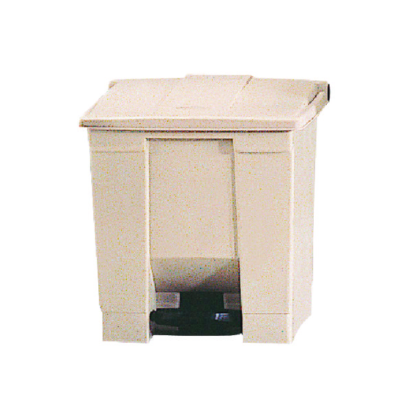 Step On 30.5 Litre Beige Waste Container 324298