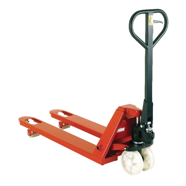 2500kg Red Hand Pallet Truck 520x1150mm 328199
