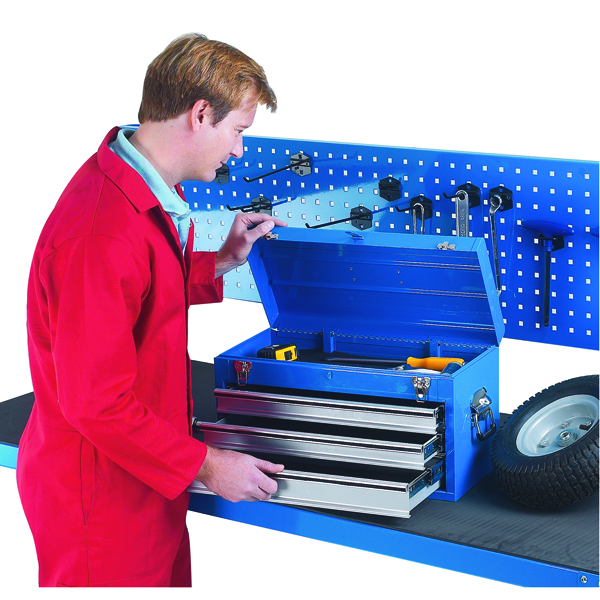 3 Drawer Blue Tool Chest 329228