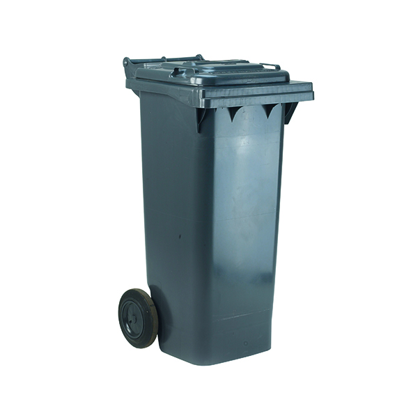 2 Wheel Grey Refuse Container 120 Litre 331110