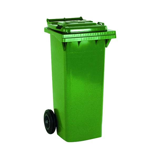 2 Wheel Green Refuse Container 240 Litre 331182
