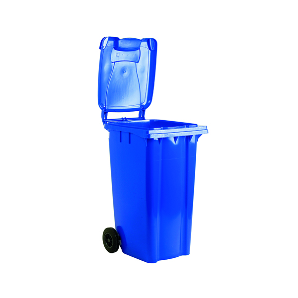 2 Wheel Blue Refuse Container 360 Litre 331217