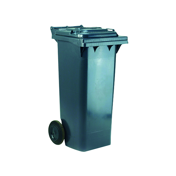 2 Wheel Grey Refuse Container 360 Litre 331221