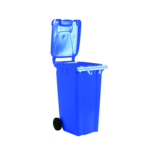 2 Wheel Blue Refuse Container 80 Litre 331261