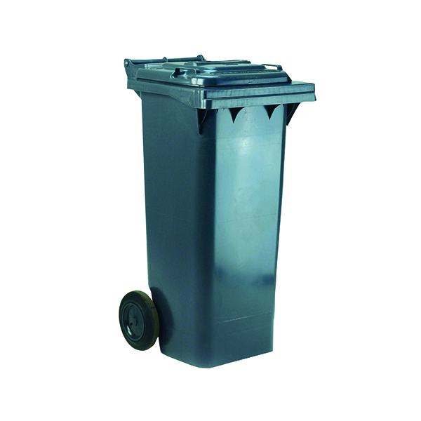 2 Wheel Grey Refuse Container 80 Litre 331265