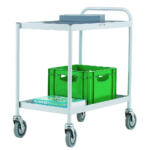 General 2 Tier Grey Purpose Trolley 331490