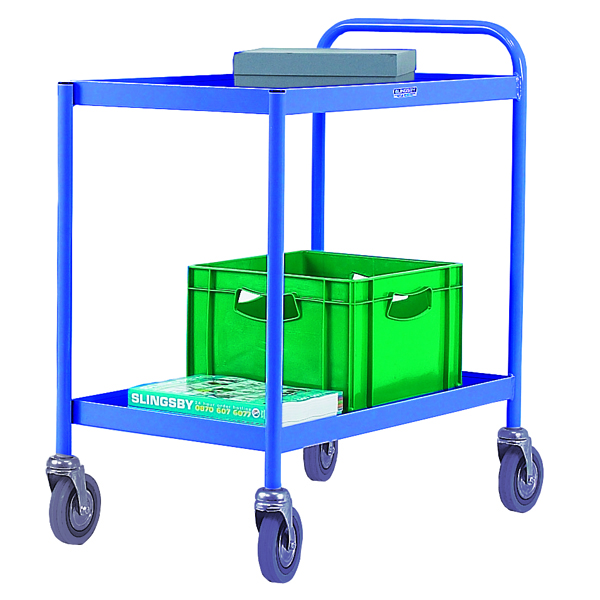 General 2 Tier Blue Purpose Trolley 331491