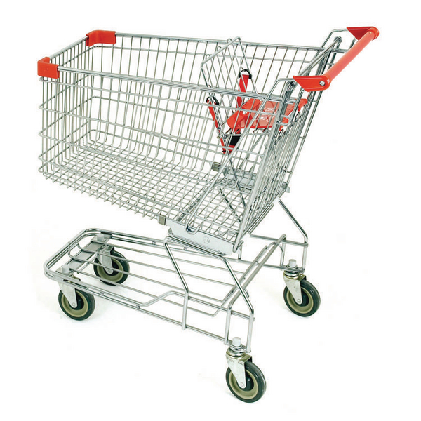 Supermarket Trolley Nesting 150 Litres 331905