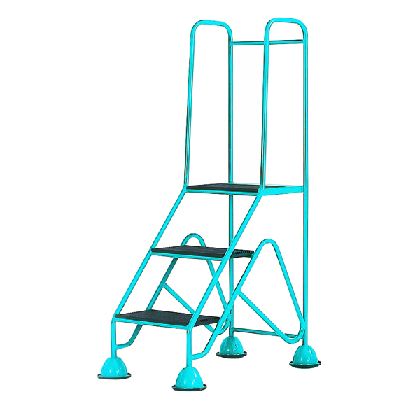 Easy Glide Blue Mobile 3 Step Full Handrail 359253