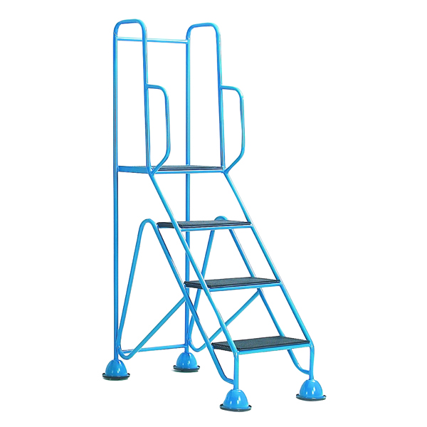 Easy Glide Blue Mobile 4 Step Full Handrail 359257