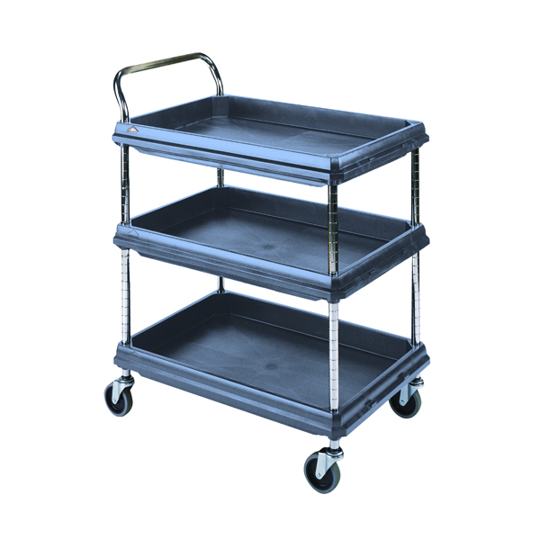 Deep Ledge Trolley Microban 2 Tier H1041 x W832 x D546mm 360966