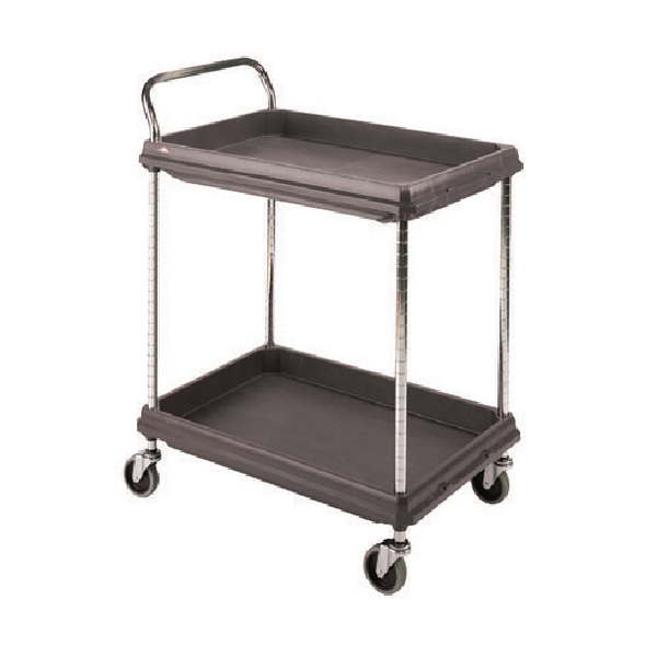 Deep Ledge 2 Tier Black W832xD546xH1041mm Trolley 375053