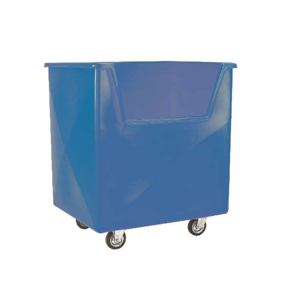 VFM Blue Order Picking Trolley 383267