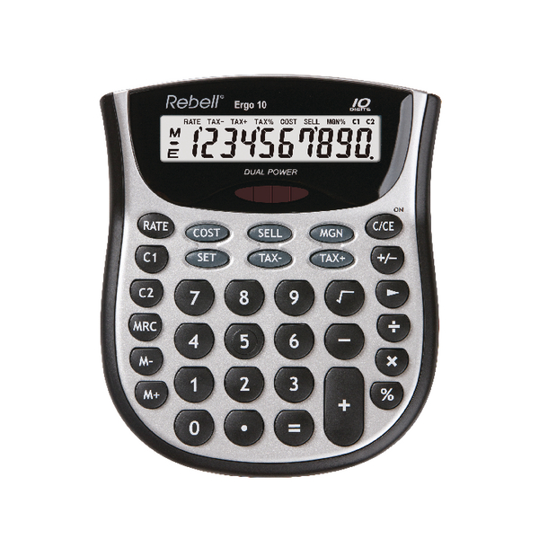 Rebell Ergo 10 Desktop Calculator RE-ERGO 10