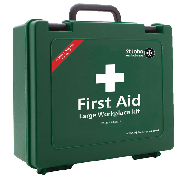 St John Ambulance Workplace First Aid Large 100 Person F30609
