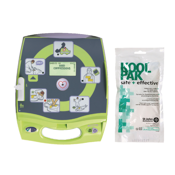 Zoll AED Plus Auto Defibrillator ( Free Revive Aid Pack) SJA844011