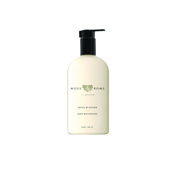 Moss and Rowe Lotus Blossom Moisturiser 400ml MRLB400M