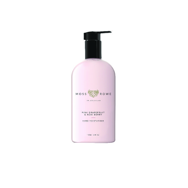 Moss and Rowe Pink Grapefruit and Acai Berry Moisturiser 400ml MRPGA400M