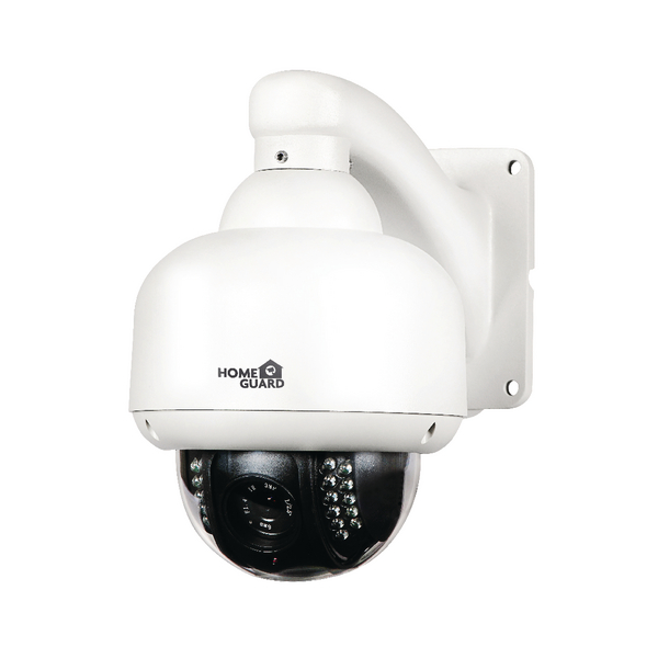 HomeGuard HD 720p All Scan Outdoor Wireless Pan and Tilt Zoom Dome Camera 116877