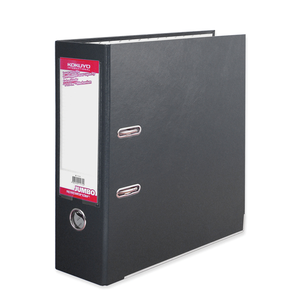 BDS Jumbo Space Binder Black Lever Arch File FF291D