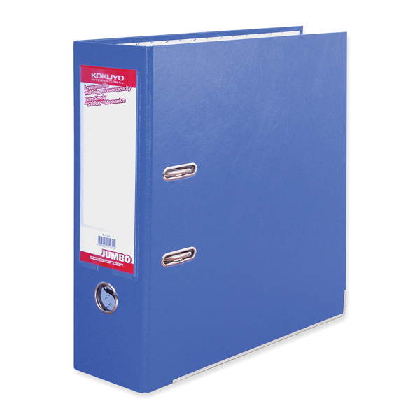 BDS Jumbo Space Binder Blue Lever Arch File FF291B