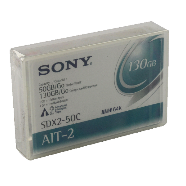 Sony AIT-2 Data Cartridge 50/100GB SDX2-50C