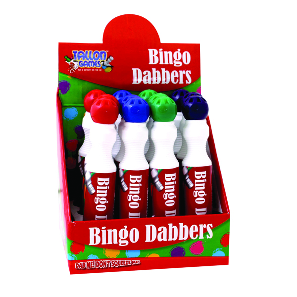 Tallon Large Bingo Dotter (12 Pack) 1158