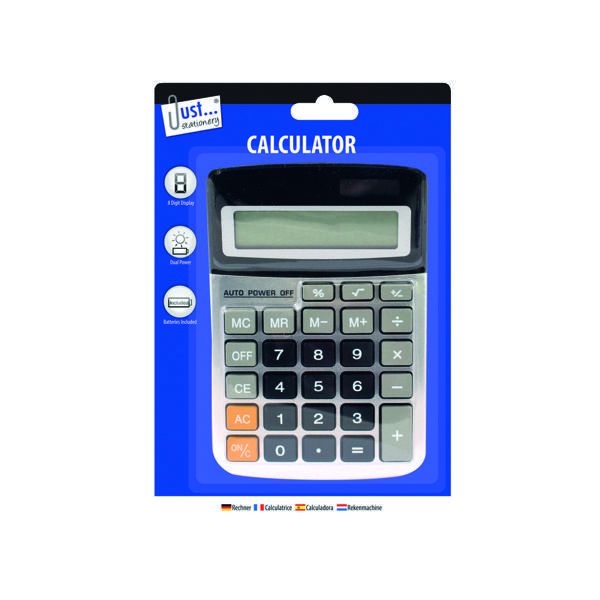 Tallon Midi Desktop Calculator (6 Pack) 6062