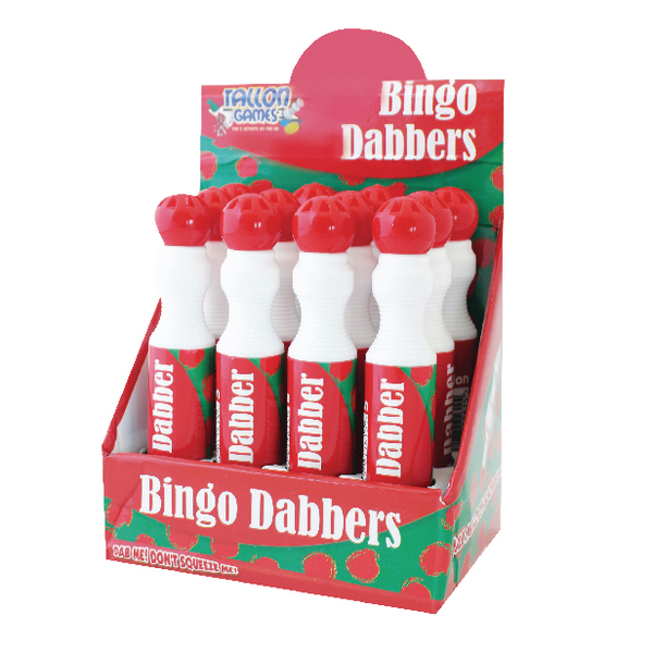 Large Red Bingo Dotter (12 Pack) 1161/48