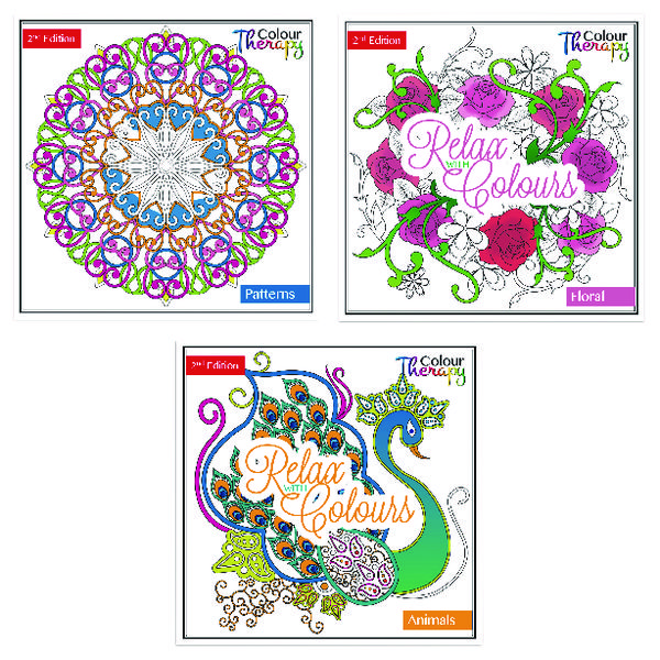 Tallon Adult Colouring Book Series 2 (12 Pack) 6846