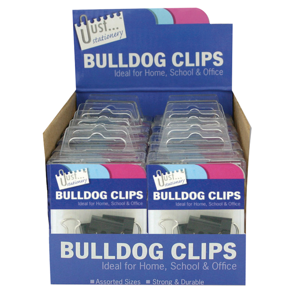 Tallon Bulldog Clips in Counter Display Unit (12 Pack) 9194