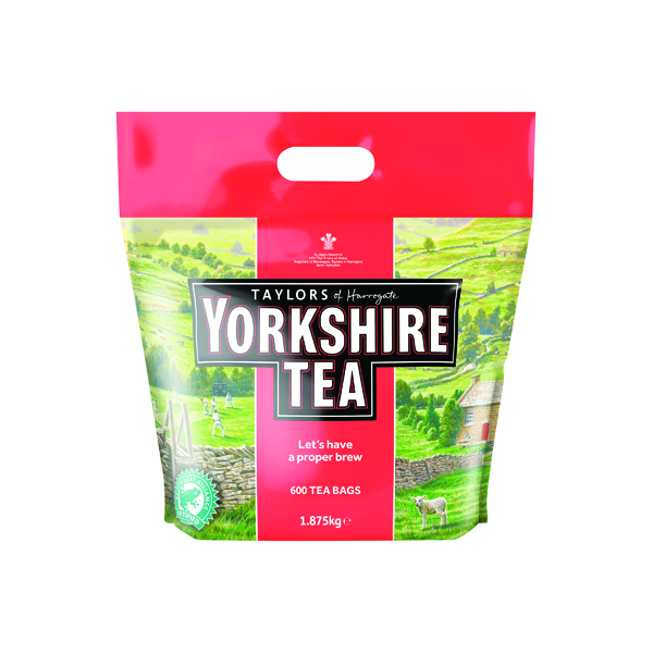 Yorkshire Tea One Cup Tea Bag (600 Pack) 1108