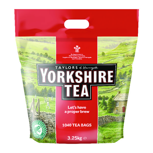 Yorkshire Tea One Cup Tea Bags (1200 Pack) 1109