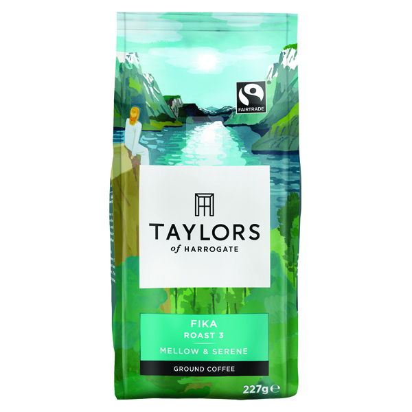 Taylors Fika Ground Coffee (227g Pack) 3355UK
