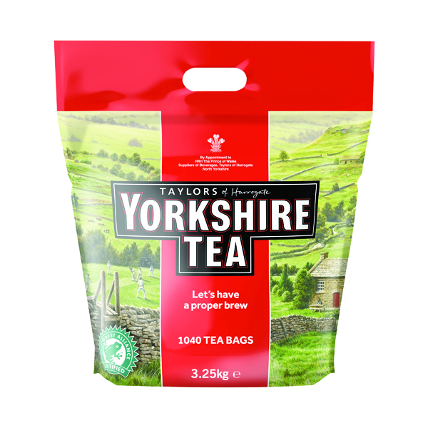 Yorkshire Tea Cup Tea Bag Pack of 1040 5007
