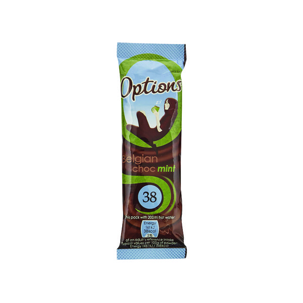 Options Hot Chocolate Mint 11g (30 Pack) W550093