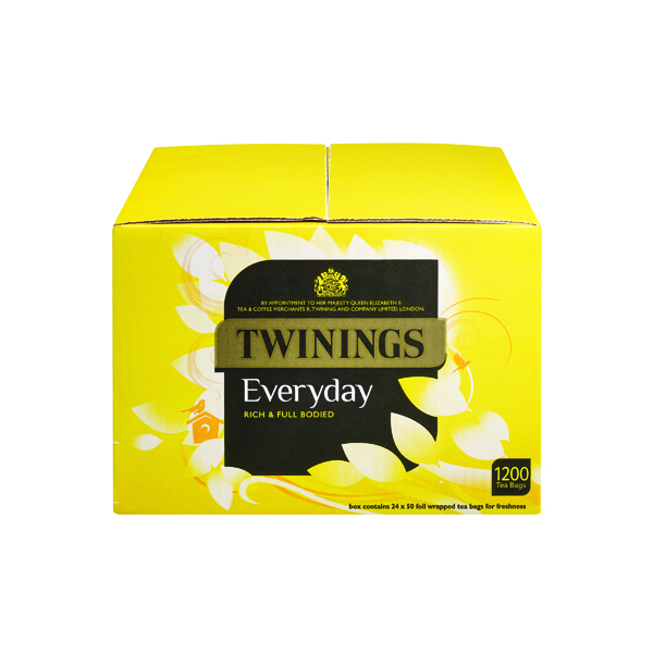 Twinings Everyday Tea Bags (1200 Pack) F13681