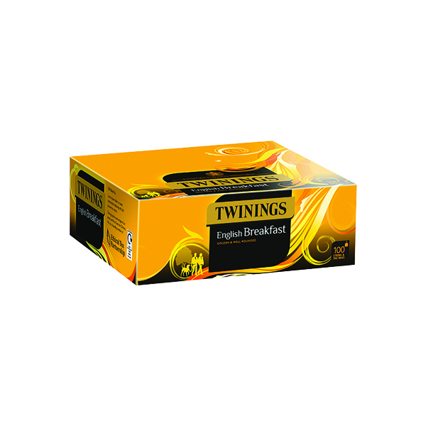 Twinings English Breakfast String and Tag (100 Pack) F14557