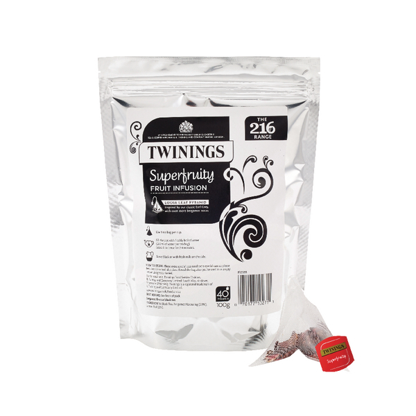 Twinings Superfruity Pyramid (40 Pack) F12530