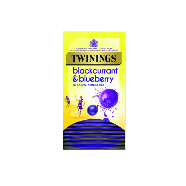 Twinings Blackcurrant and Blueberry (20 Pack) F14393