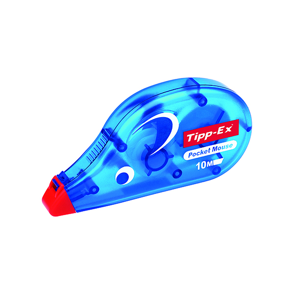 Tipp-Ex Pocket Mouse Correction Tape (10 Pack) 820789