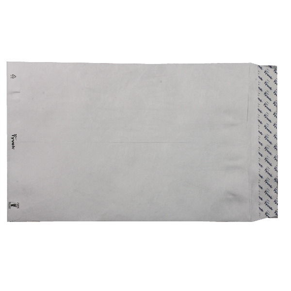 Tyvek Envelope 381 x 254mm Peel and Seal White (100 Pack) 557224