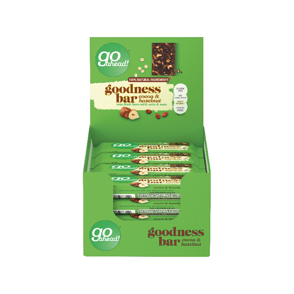 Go Ahead Cocoa and Hazelnut Goodness Bar (16 Pack) 35294