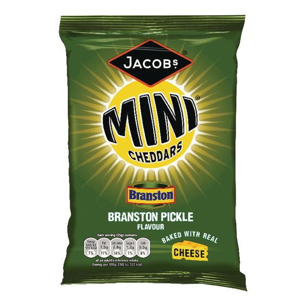 Jacobs Mini Cheddars Branston Pickle Grab Bag (30 Pack) 27814