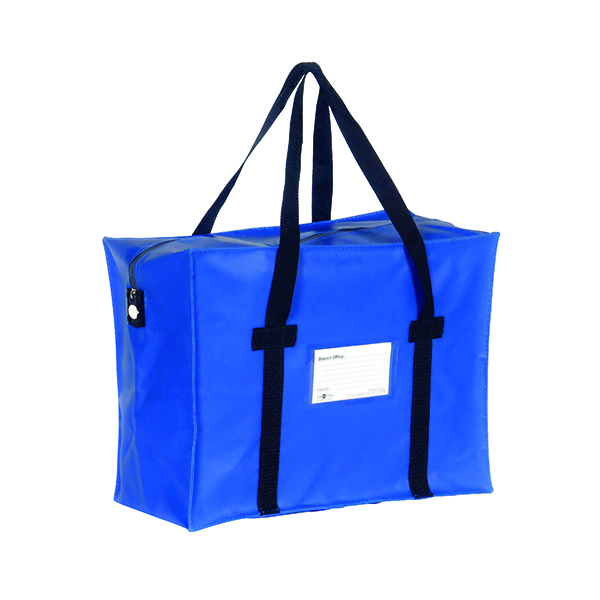 Go Secure Courier Holdall Blue H2B