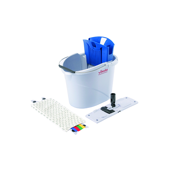 Vileda UltraSpeed Blue Mini 10 Litre Starter Kit 129672