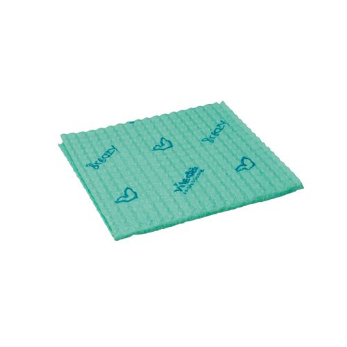 Vileda Breazy Green Microfibre Cloth (Pack of 20) 137642