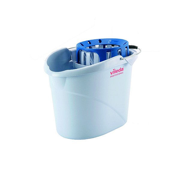 Vileda Supermop Blue Bucket and Wringer 138924