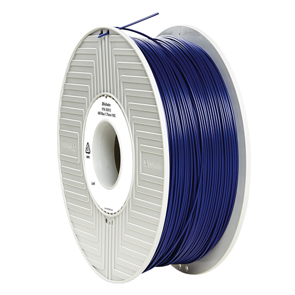 Verbatim ABS 3D Printing Blue Filament 1.75mm 1kg Reel 55012